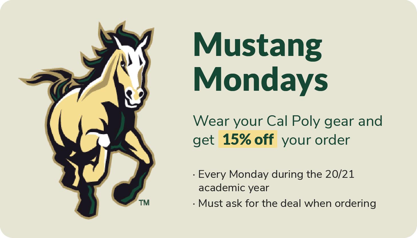 Mustang Mondays